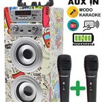 Altavoces Karaoke Con Microfono