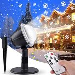 Proyector Luces Navidad Fachada