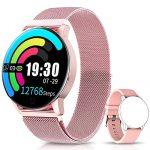 Reloj Rosa Mujer Smartwatch